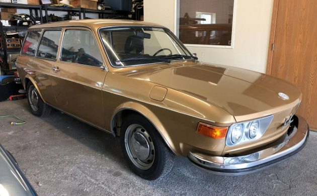 Pre-Passat: 1973 Volkswagen 412 Wagon