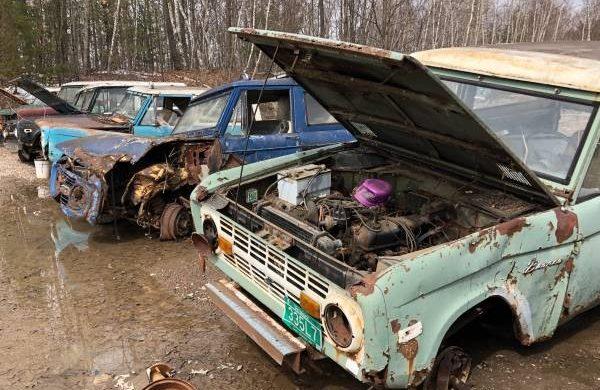Bronco Roundup In Vermont