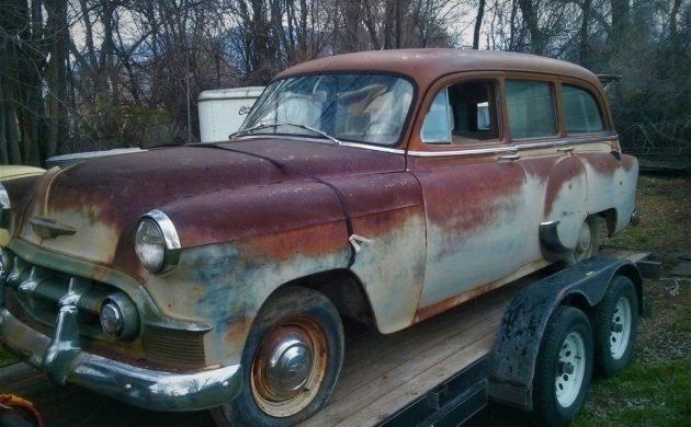 Unbeatable Patina 1953 Chevrolet Station Wagon