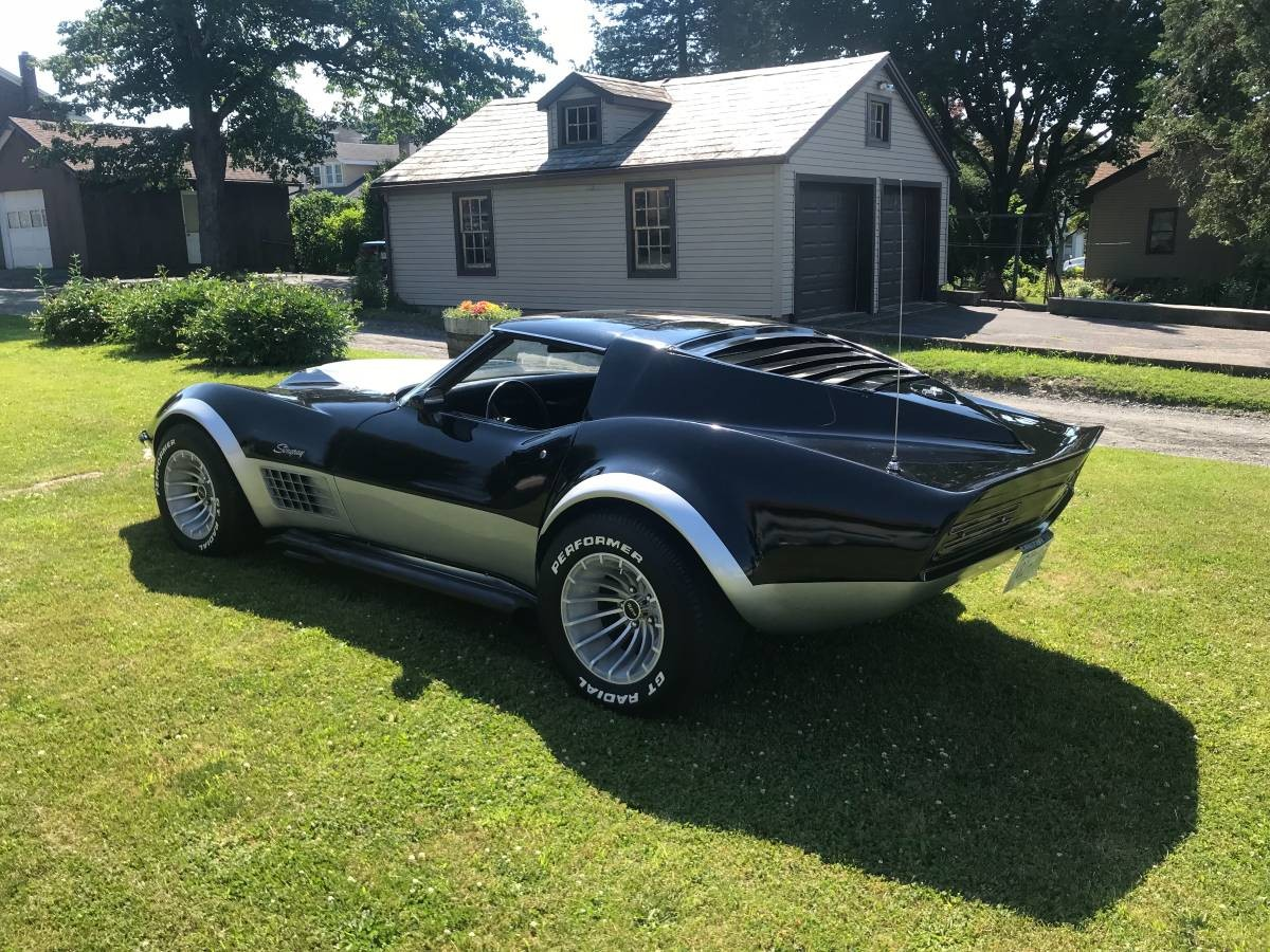 time capsule 1970 corvette stingray mako shark. Black Bedroom Furniture Sets. Home Design Ideas