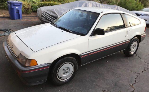 Original Paint: 1986 Honda CRX