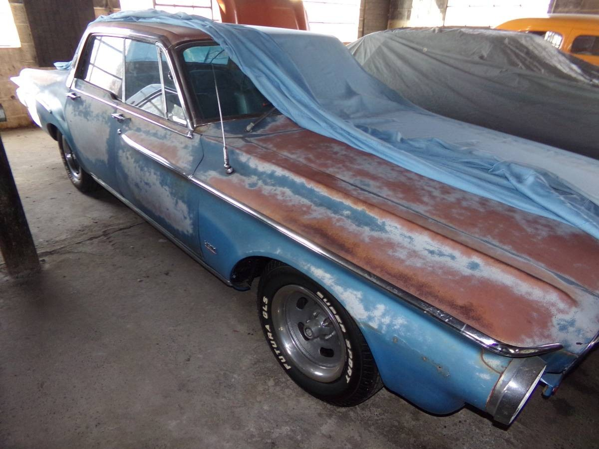 Plenty Of Patina 1962 Dodge Dart 440