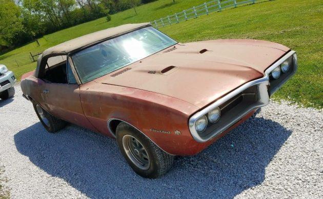 More Than Meets The Eye: 1967 Pontiac Firebird Convertible