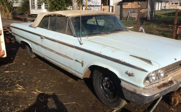 Unexpected Bonus: 1963 Ford Galaxie Convertible