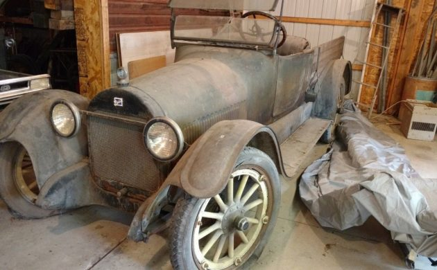 Real Barn Find: 1920 Buick K45