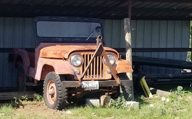 Bring A Tow Hitch 1957 Willys Jeep