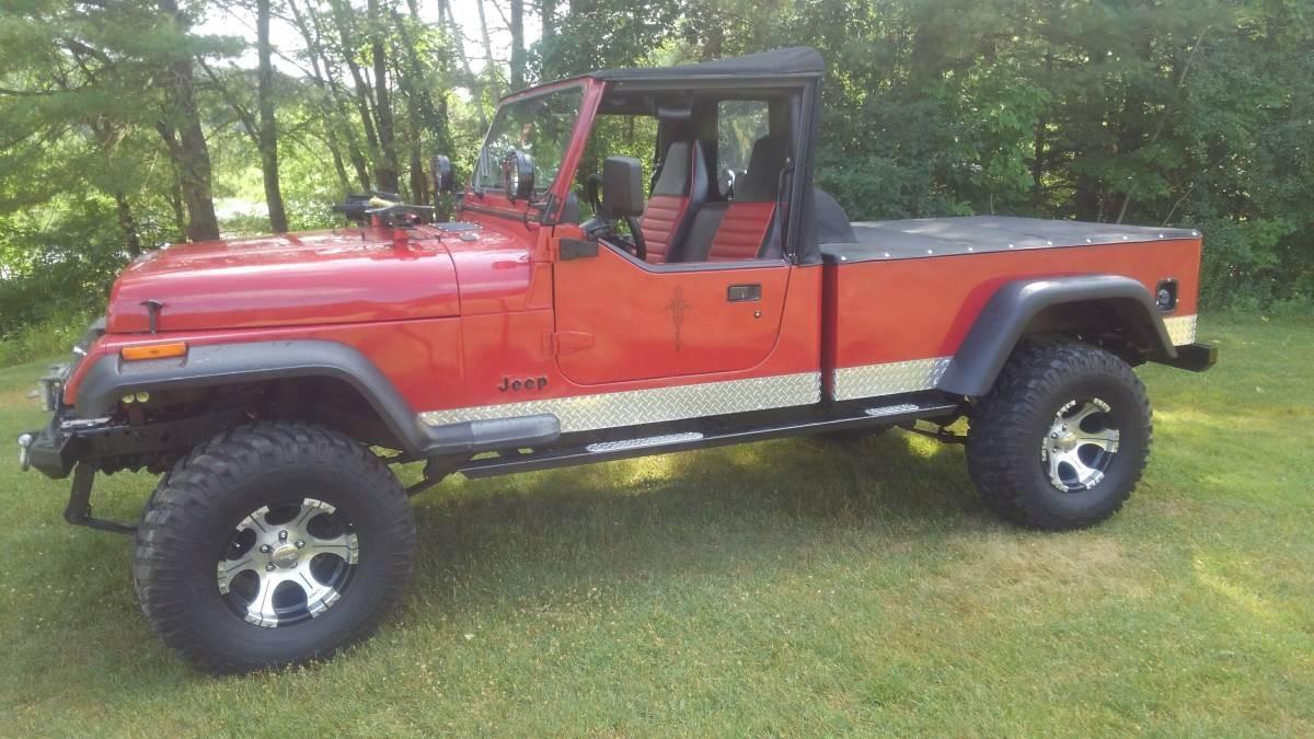 ScramWrangler? 1994 Custom Jeep Wrangler Pickup
