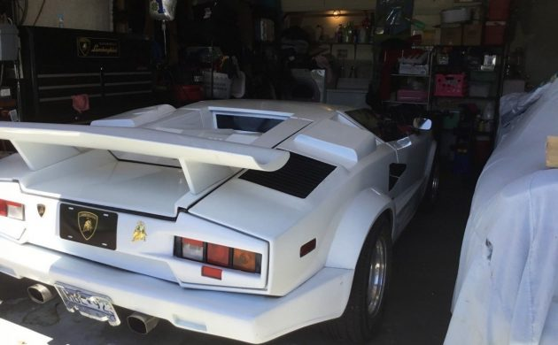 The Non Italian Stallion 1984 Lamborghini Countach Kit Car