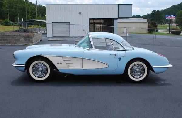 In Storage Since 1973: 1959 Chevrolet Corvette