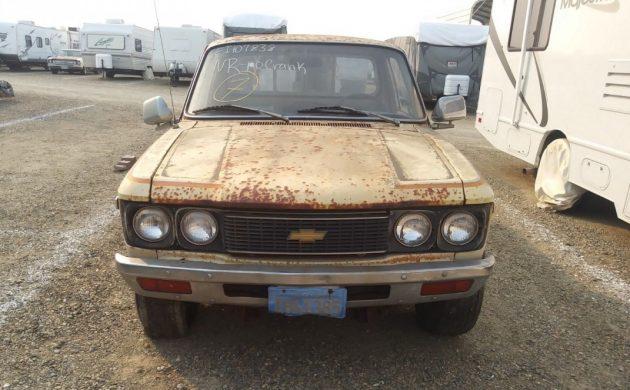 Rare Stepside: 1977 Chevy LUV