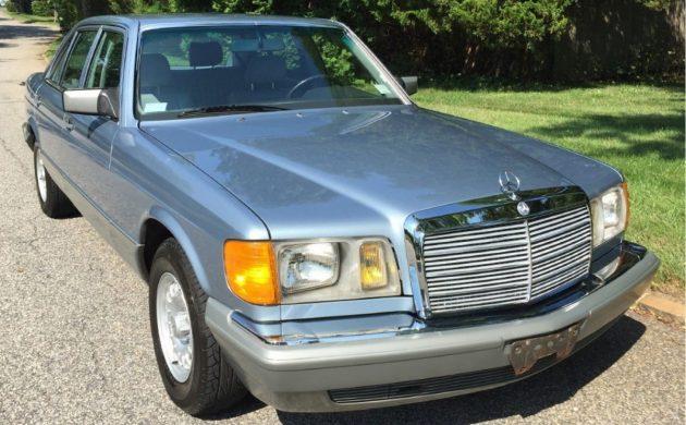 Under 40,000 Miles: 1985 Mercedes 500SEL