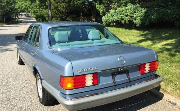 Under 40 000 Miles 1985 Mercedes 500sel
