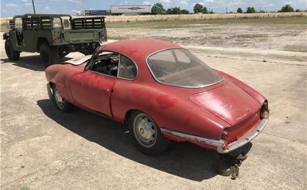 Rare But Crunched! 1964 Alfa Romeo Guilia SS