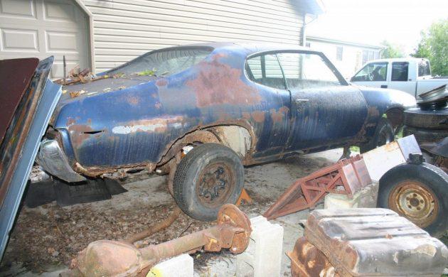 Beyond Repair: 1969 Pontiac GTO
