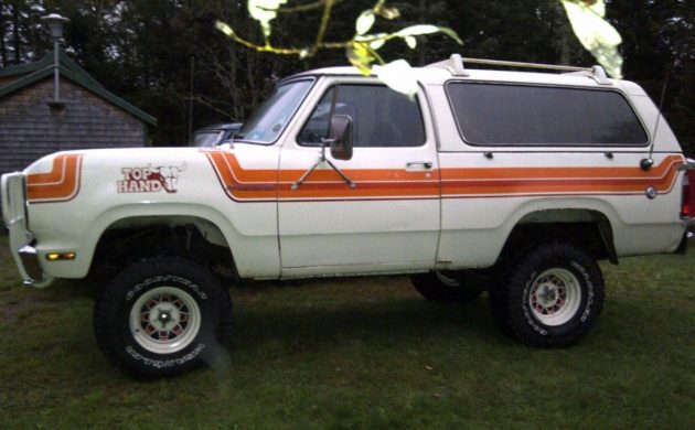 Top Hand Edition: 1978 Dodge Ramcharger