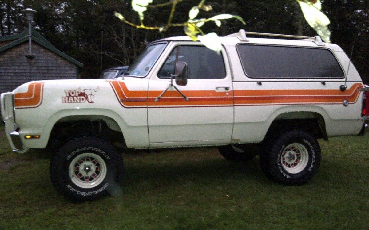 Top Hand Edition 1978 Dodge Ramcharger