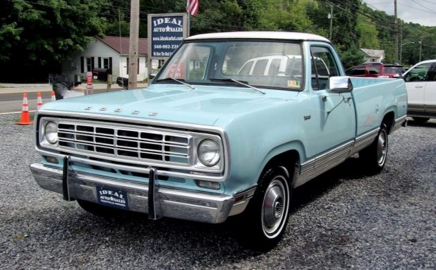 Gentleman's Pickup: 1976 Dodge D100 Custom