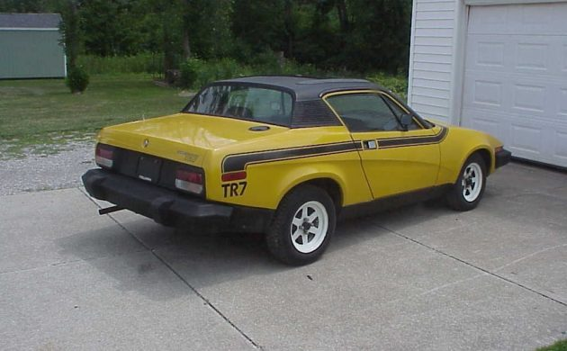 Stored 20 Years  1976 Triumph Tr7