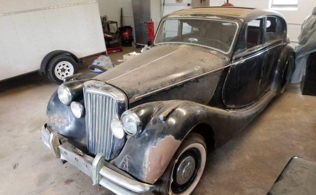 Dusty Shop Find: 1950 Jaguar Mk. V