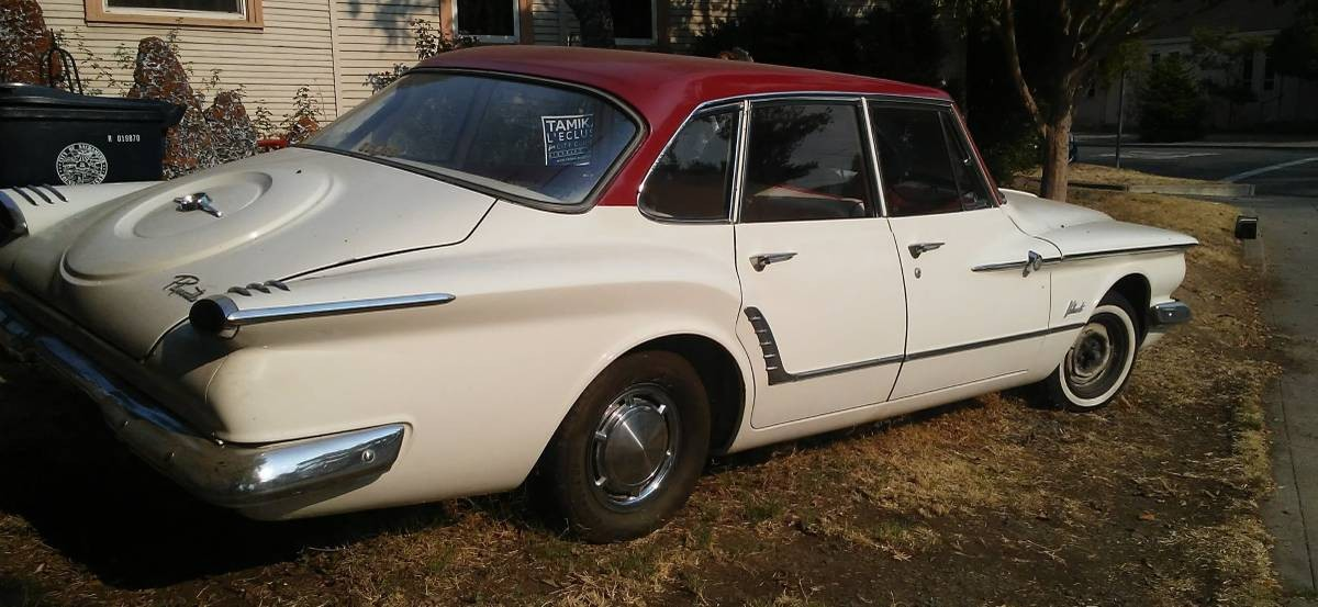 Garaged Road Toad 1961 Plymouth Valiant