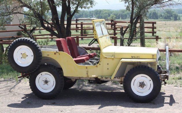 Same Family Since '53: 1946 Willys CJ2A