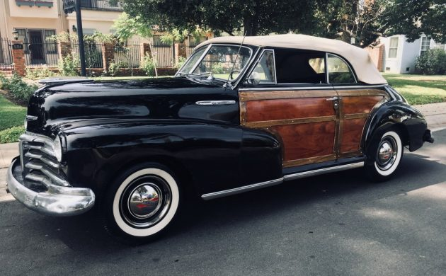 EXCLUSIVE: 1948 Chevrolet Cabriolet Woody