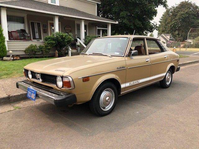 Old Muscle Cars For Sale >> Sedate Survivor: 1978 Subaru DL Sedan