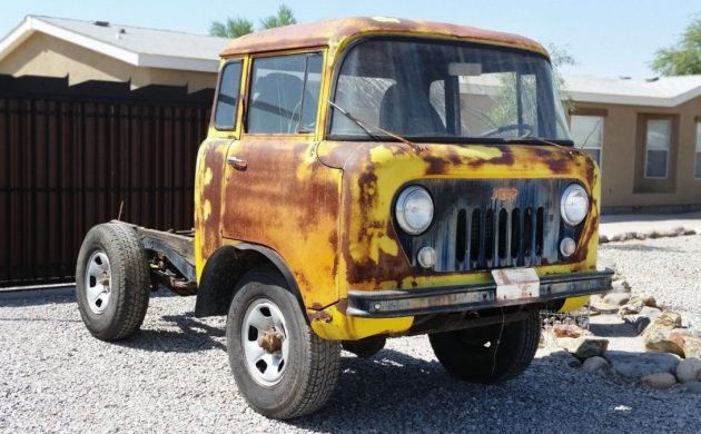 Jeep Fc For Sale >> Last Driven In 1992 1960 Jeep Fc 150