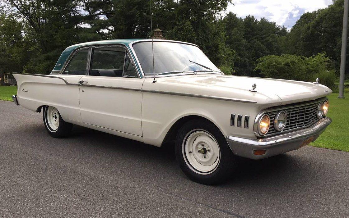 Car Tail Lights >> 12,575 Miles: 1961 Mercury Comet