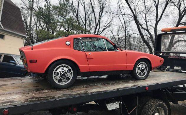 $3,000 Swede: 1971 Saab Sonett III