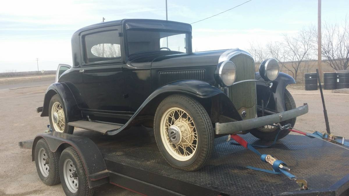 Texas Car Barn >> Woody On The Inside: 1932 Plymouth Coupe
