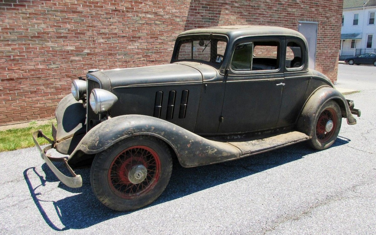 True Barn Find! 1933 Chevrolet Coupe