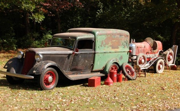 Pasteurized Patina: 1934 Dodge Humpback Panel