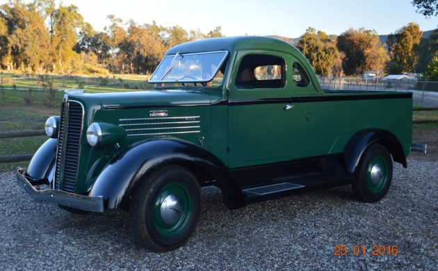 Still a Mystery: 1937 Stewart Coupe Ute