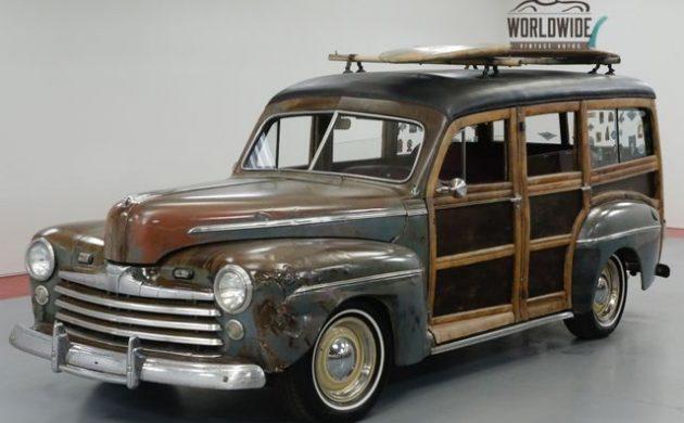 LS Power! 1946 Ford Woody Wagon