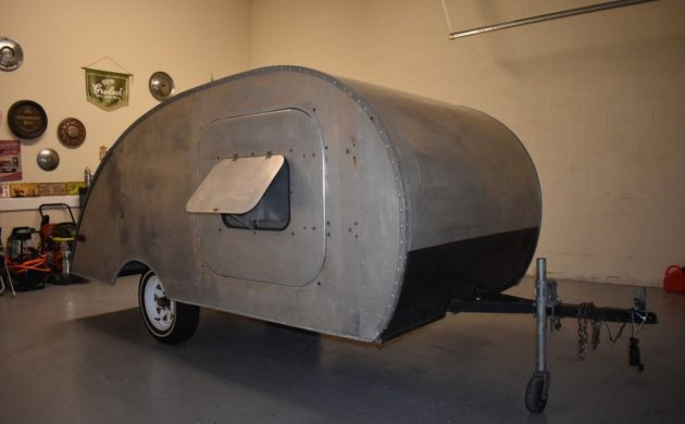 Original 1948 Tourette Teardrop Camper