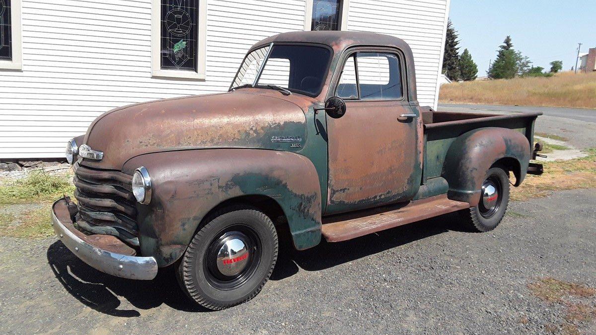 Amazing Original Patina 1951 Chevrolet 3100 Pickup