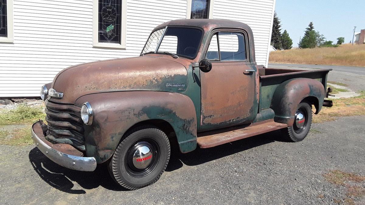 Amazing Original Patina 1951 Chevrolet 3100 Pickup Truck