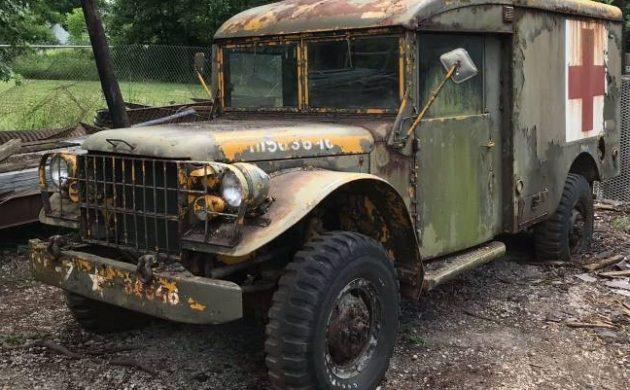 Historic Hero: 1953 Dodge M43 Ambulance