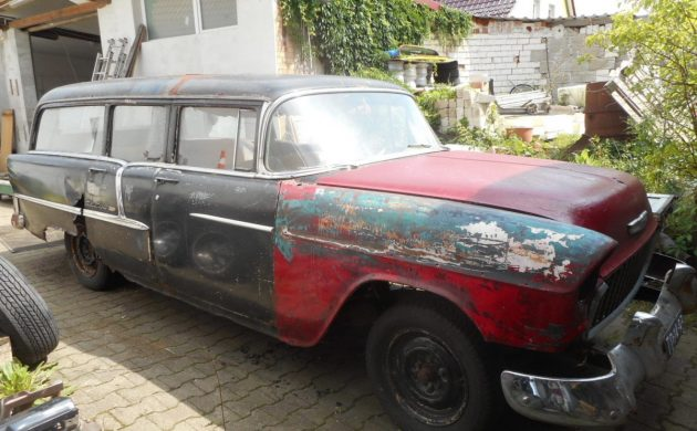 Mystery Find: 1955 Chevrolet Bel Air Hearse?