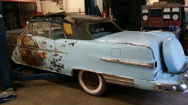 Road Trip, after Restoration: 1956 Pontiac Star Chief Convertible