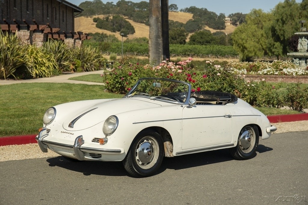 stored for 30 years 1961 porsche 356 roadster
