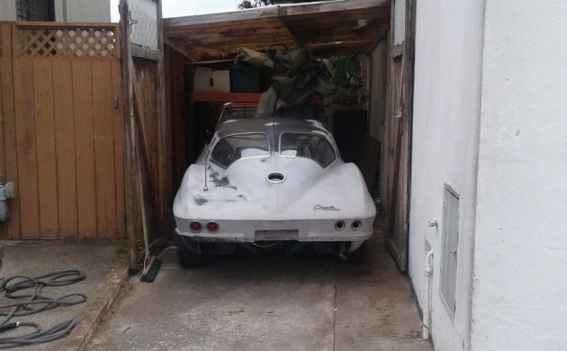 Garaged Over 40 Years! 1963 Split-Window Corvette