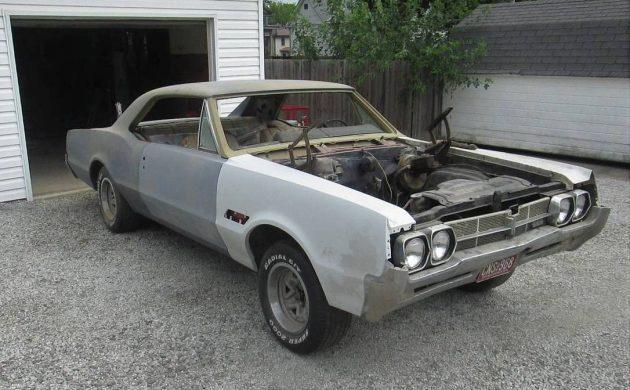 Restoration Ready: 1966 Oldsmobile 442