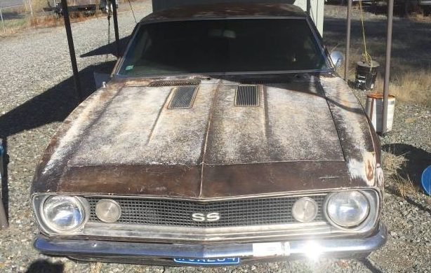 Stored For 30 Years: 1967 Chevrolet Camaro SS