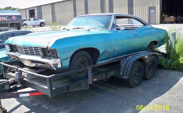 Needs Almost Everything: 1967 Chevrolet Impala