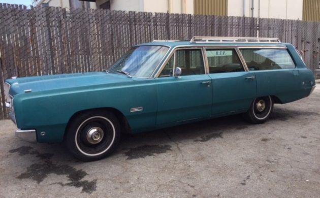 EXCLUSIVE: 1968 Plymouth Fury Sport Wagon