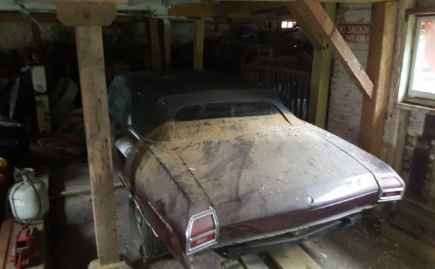Barn Find! 1969 Chevrolet Chevelle Convertible
