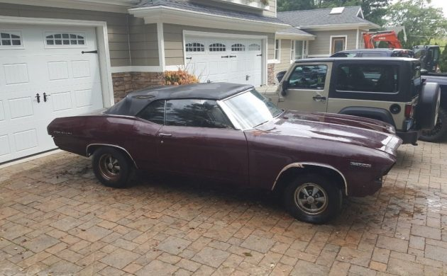 The Car Was A True Barn Find And Stored For Twenty Years Before Being Pulled Out Of Hiding Thanks To Adam C Tip On This Chevelle