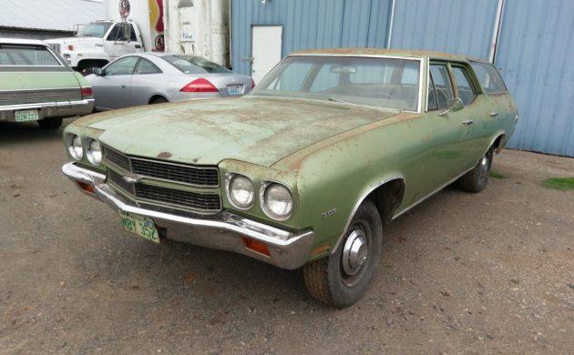 Heavy Chevy: 1970 Chevrolet Chevelle Wagon